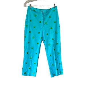 Lilly Pulitzer crop pants
